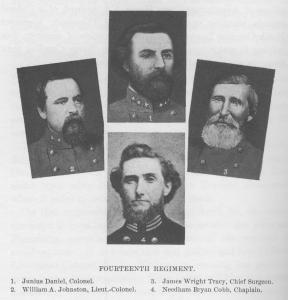 Excerpt from Histories of the Several Regiments and Battalions from North Carolina in the Great War 1861-'65, Volume I, page 704, edited by Walter Clark. Raleigh, 1901.
